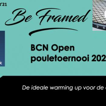Het Beframed Open Pouletoernooi 4-6 2021