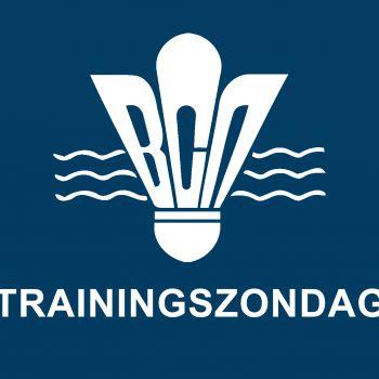 Zondag 6 januari = trainingszondag