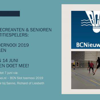 BCN Slot Toernooi - Husselen