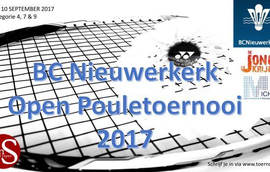 BC Nieuwerkerk Open Pouletoernooi 1