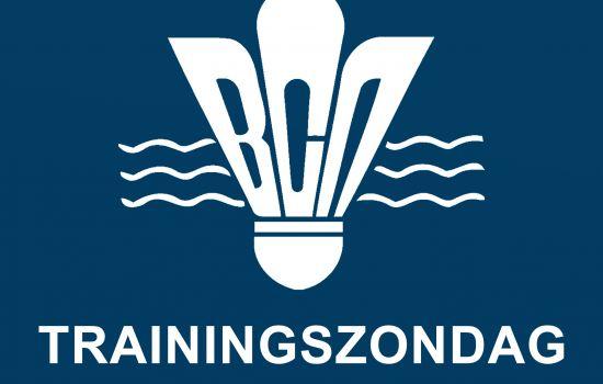 Zondag 9 januari = trainingszondag 1
