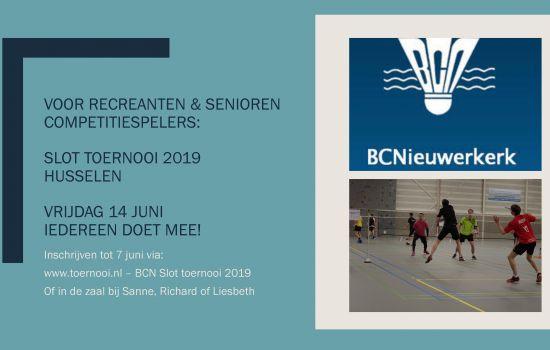 BCN Slot Toernooi - Husselen 1