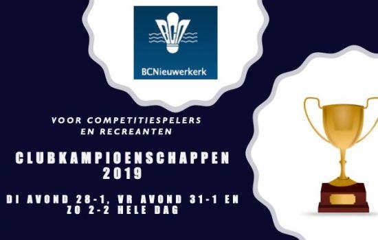 Clubkampioenschappen 1