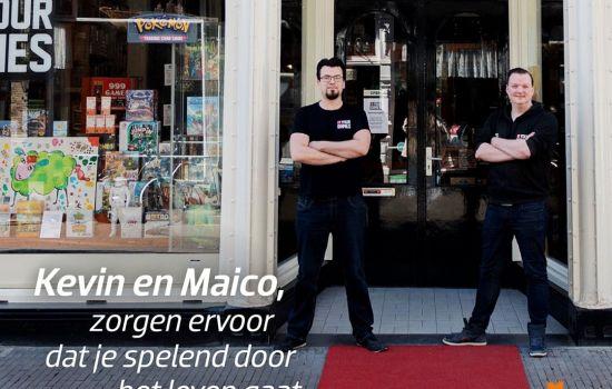 STEM NU op onze baansponsor 4 Your Games in de race als favoriete ondernemer van Dordrecht!