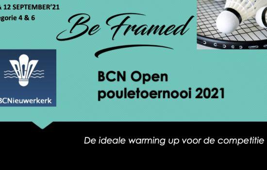 BCN Open Pouletoernooi is open!