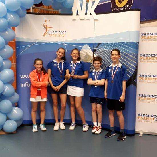 Op het NK hebben onze jeugdteams de 3e plek in U13 en een 1e plek in U17 binnen gehaald!!!!! 1
