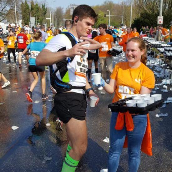 BCN helpt bij de Marathon van Rotterdam 1