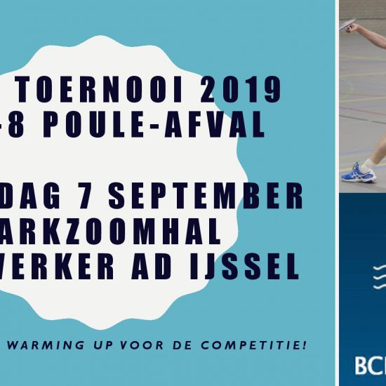 Inschrijving BCN Open toernooi geopend! 1