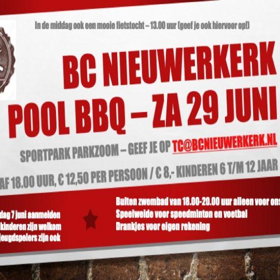 Fietstocht en BCN Pool BBQ za 29 juni 1