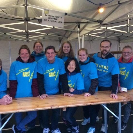 Vrijwilligerswerk bij de Rotterdam Night Run 1