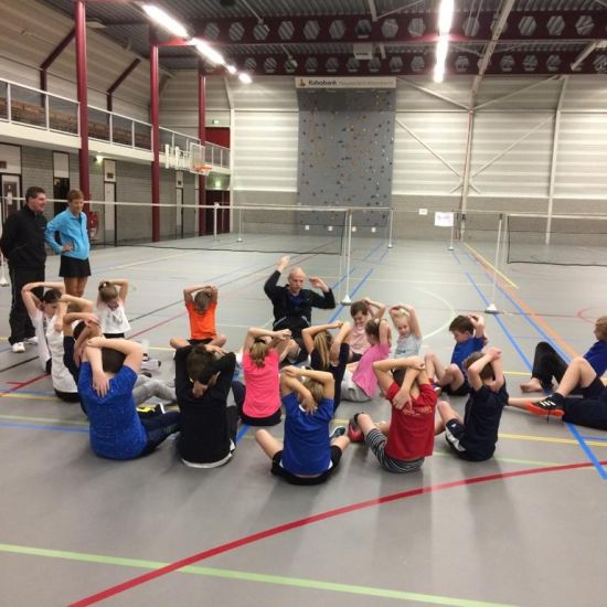 BRAINS kennismaking met badminton 1