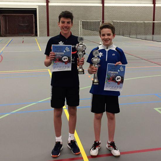 Ereplaatsen voor BCN in het Regio jeugd circuit 2016-2017