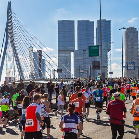 vrijwilligers bijdrage NN Marathon van Rotterdam